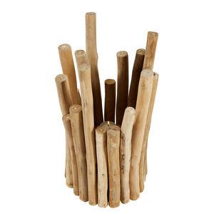 MAISONS DU MONDE - bougeoir en teck malian - Kerzenständer