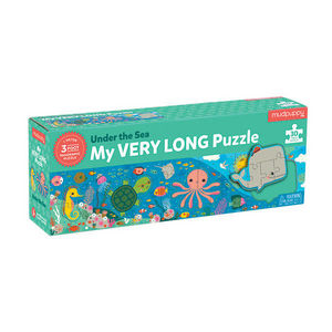 BERTOY - 30 pc long puzzle under the sea - Kinderpuzzle