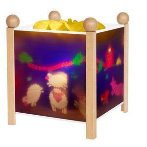 TROUSSELIER - animaux de la ferme - Kinder Tischlampe