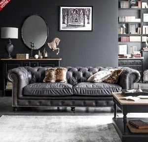 Interior's - coventry  - Chesterfield Sofa