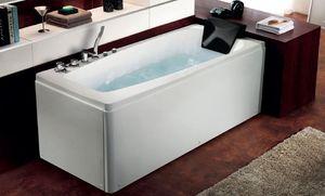 ITAL BAINS DESIGN - k1204r - Whirlpool Eckbadewanne