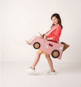 MISTER TODY - car pink - Aufbau Spiel