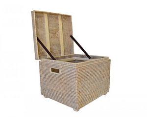 ROTIN ET OSIER - renforts bois sib - Truhe