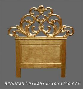 DECO PRIVE - tête de lit en bois doré modèle granada - en stock - Kopfteil
