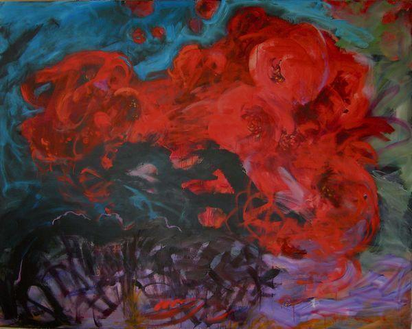 Fabienne Colin - Zeitgenössische Gemälde-Fabienne Colin