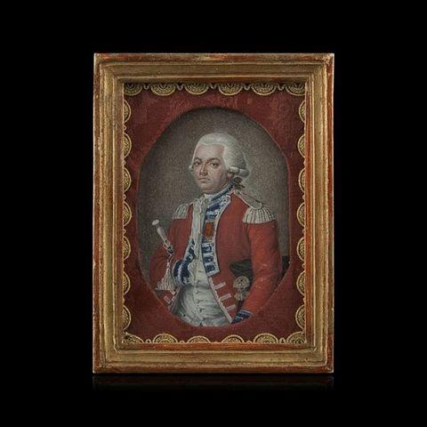 Expertissim - Miniatur Portrait-Expertissim-Miniature du Comte Louis-Auguste-Philippe d'Affry