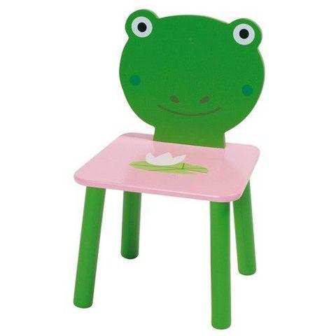 La Chaise Longue - Kinderstuhl-La Chaise Longue-Chaise pour enfant grenouille 48x30cm