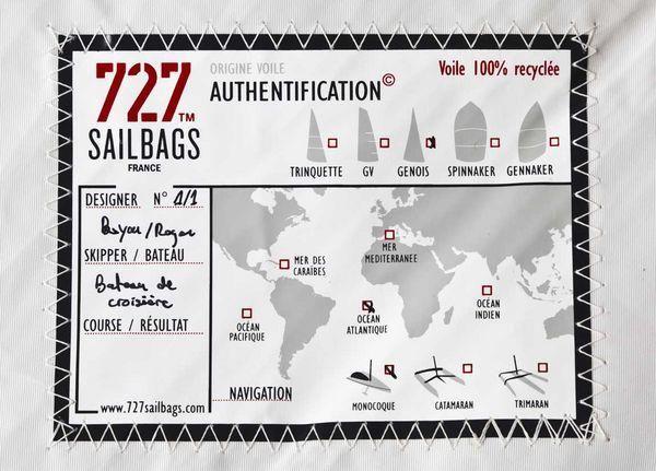 727 SAILBAGS - Kindersitzkissen-727 SAILBAGS-Pouf Solo