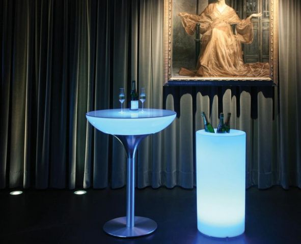Moree - Sektkübel-Moree-Cooler LED Accu