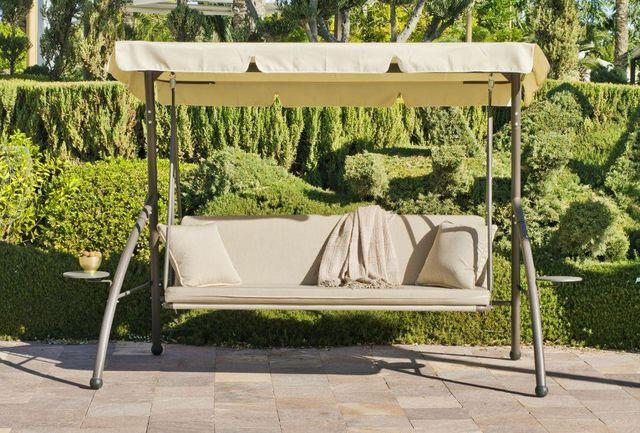 HEVEA - Hollywoodschaukel-HEVEA-Balancelle de jardin en acier Canada