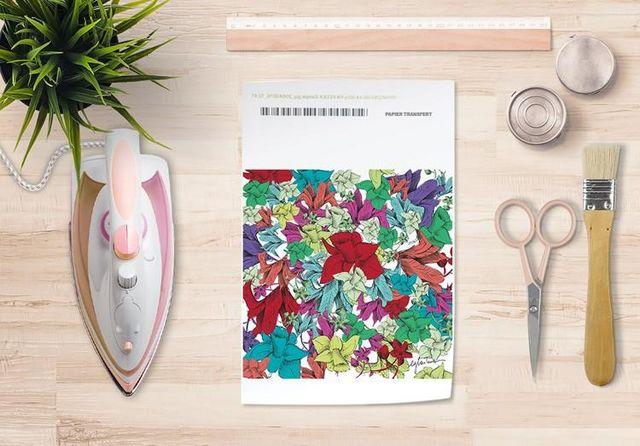 la Magie dans l'Image - Verlegung-la Magie dans l'Image-Papier transfert Fleurs