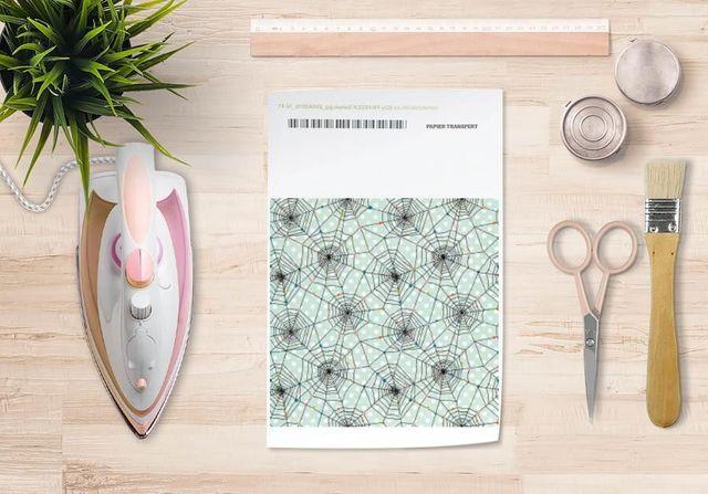 la Magie dans l'Image - Verlegung-la Magie dans l'Image-Papier transfert Toile verte