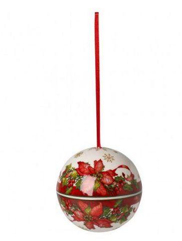 VILLEROY & BOCH - Weihnachtskugel-VILLEROY & BOCH- Poinsettia