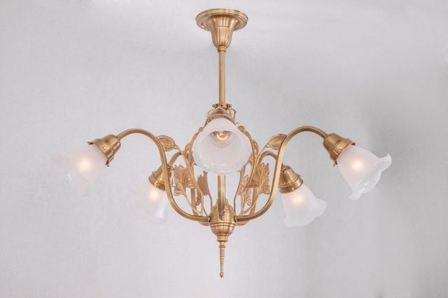 PATINAS - Kronleuchter-PATINAS-Szeged 5 armed chandelier
