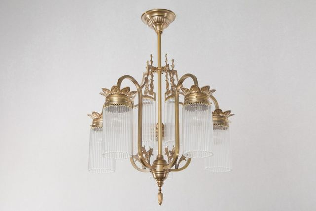 PATINAS - Kronleuchter-PATINAS-Sopron 5 armed chandelier II.