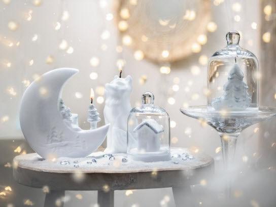 Bougies La Francaise - Weihnachtskerze-Bougies La Francaise-Clair de lune