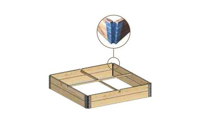Solid Floor - Gartenkasten-Solid Floor