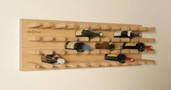 Cav in Wood - Flaschenträger-Cav in Wood-Fakir-line