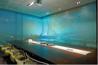 GLASSOLUTIONS France - Büro Zwischenwand-GLASSOLUTIONS France-Priva Lite