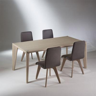 Robin des bois - Rechteckiger Esstisch-Robin des bois-Table rectangulaire, chêne, 8 couverts, SIXTY