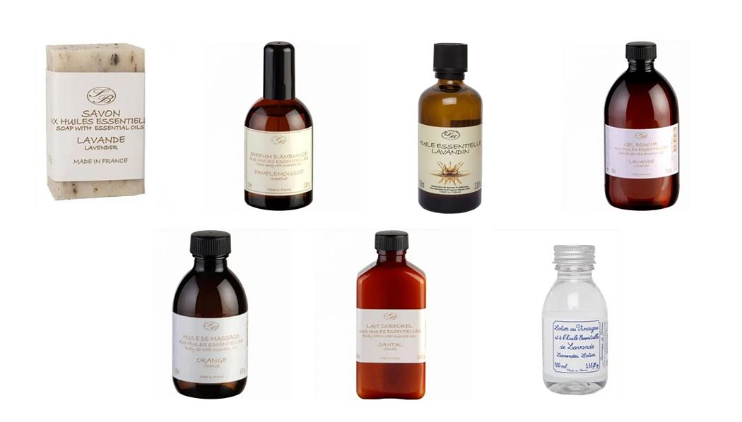 Savonnerie De Bormes Aceite esencial Sales & aceites de baño Baño Sanitarios  |