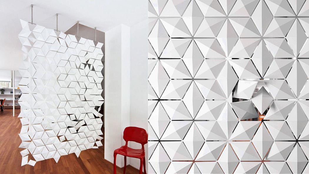 BLOOMMING Panel separador de habitaciiones Cortinas Tejidos Cortinas Pasamanería  |