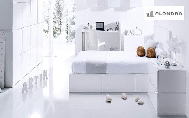 ALONDRA Habitación juvenil 11-14 años Dormitorio infantil El mundo del niño Dormitorio infantil | Design Contemporáneo