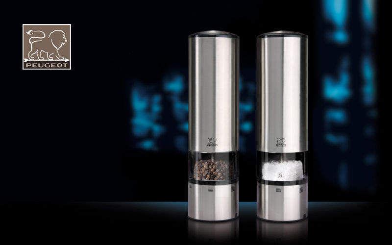 Peugeot Molinillo eléctrico para pimienta o sal Portaespecias & portacondimentos Mesa Accesorios Cocina | Design Contemporáneo