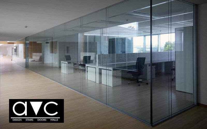 Avc Tabique de despacho Tabiques y paneles acústicos Paredes & Techos Lugar de trabajo |