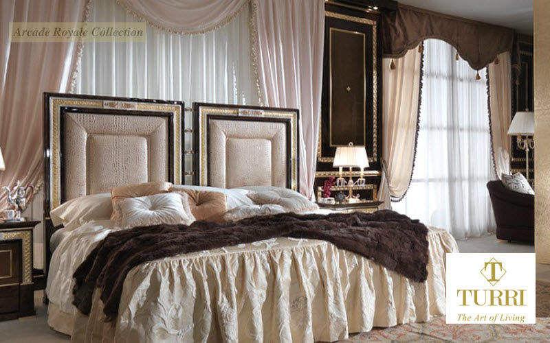 Turri Cama de matrimonio Camas de matrimonio Camas Dormitorio | Rústico