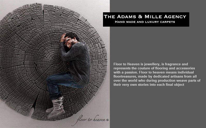 Adams & Mille Agency Alfombra contemporánea Alfombras contemporáneas Alfombras Tapices Salón-Bar | Ecléctico