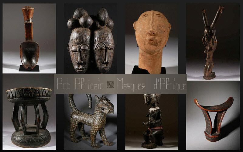 ART-MASQUE-AFRICAIN.COM Máscara africana Máscaras Objetos decorativos    Lugares exóticos