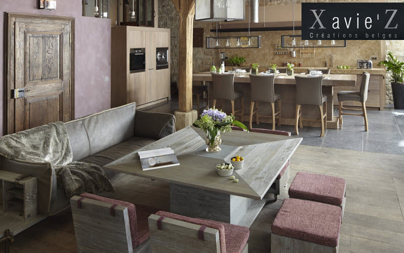 Mesa de comedor cuadrada mesas de comedor cocina for Xavie z