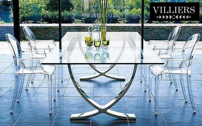 Villiers Mesa de comedor rectangular Mesas de comedor & cocina Mesas & diverso Comedor   Design Contemporáneo