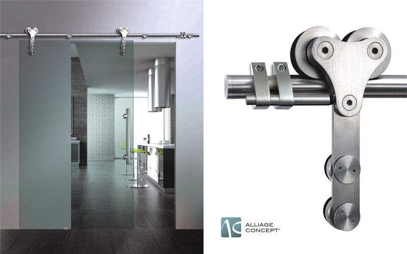 ALLIAGE CONCEPT Puerta de comunicación deslizante Puertas Puertas y Ventanas Cocina | Design Contemporáneo