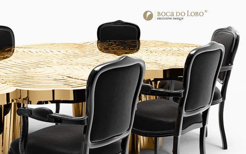 BOCA DO LOBO Mesa de comedor redonda Mesas de comedor & cocina Mesas & diverso  |