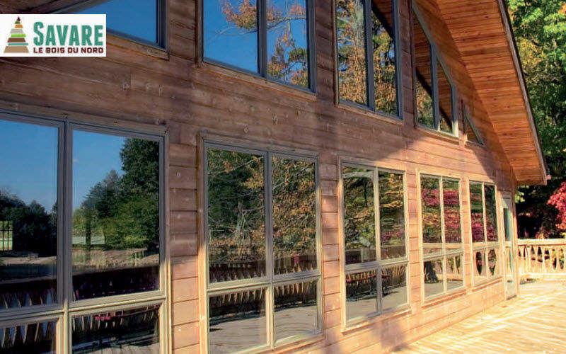 SAVARE BOIS DU NORD Revestimiento para pared de madera Muros exterior Paredes & Techos  |