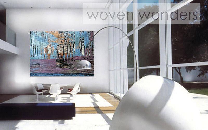 Woven Wonders Tapiz contemporáneo Tapices Alfombras Tapices   