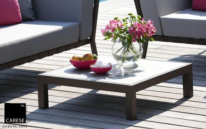 CARESE Mesa baja de jardín Mesas de jardín Jardín Mobiliario  |