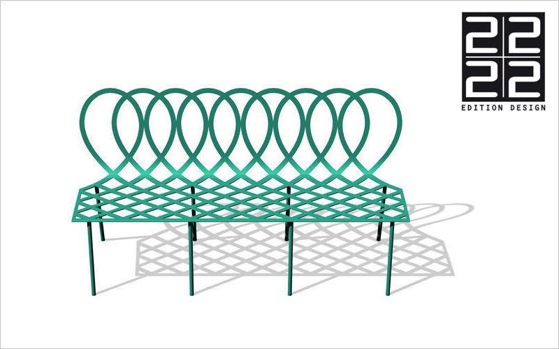 22 22 EDITION DESIGN Banco de jardín Bancos Jardín Mobiliario  |