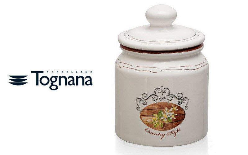 TOGNANA PORCELLANE Tarro Recipientes y contenedores de conservas (tarros-botes-frascos) Cocina Accesorios   