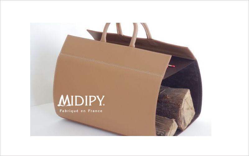 MIDIPY portador de troncos Accesorios de chimenea Chimenea  |