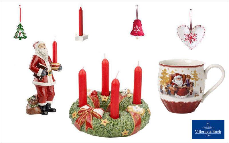 VILLEROY & BOCH Candelero de Navidad Decoración y motivos navideños Navidad y Fiestas  |