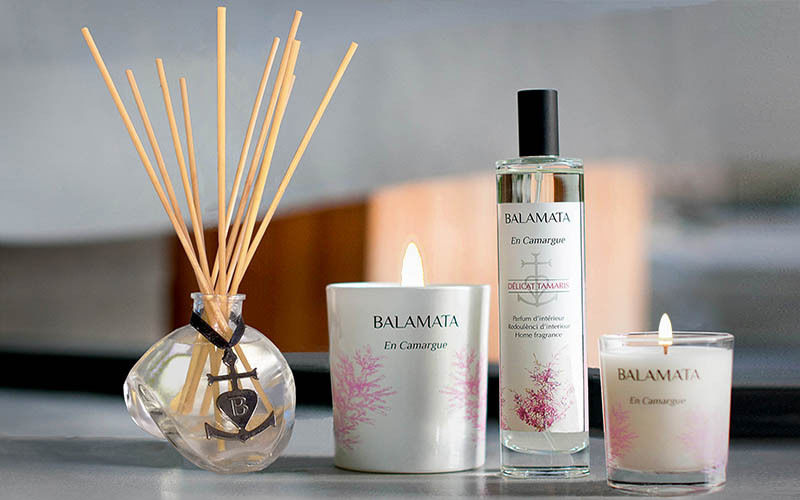 BALAMATA Difusor de perfume Aromas Flores y Fragancias  |