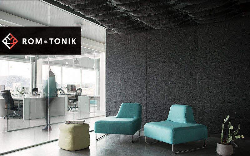 ROM & TONIK Techo acústico Techos Paredes & Techos  |