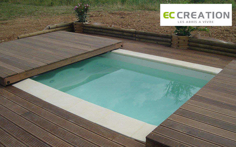 EC CREATION Cubierta de piscina extra plana Cabinas de piscina Piscina y Spa   