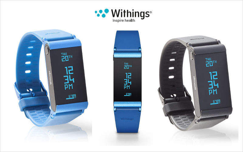 Withings Europe Pulsera conectado Máquinas de gimnasia varias Fitness  |