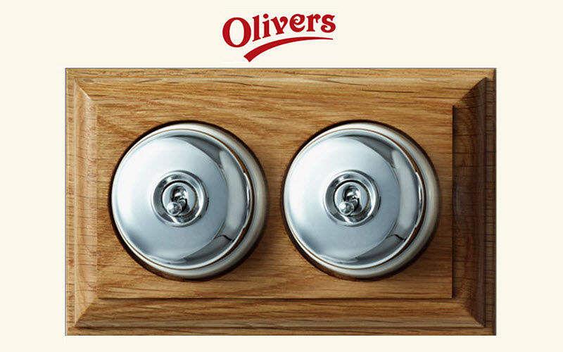 Olivers Lighting Company Interruptor doble Electricidad Iluminación Interior   