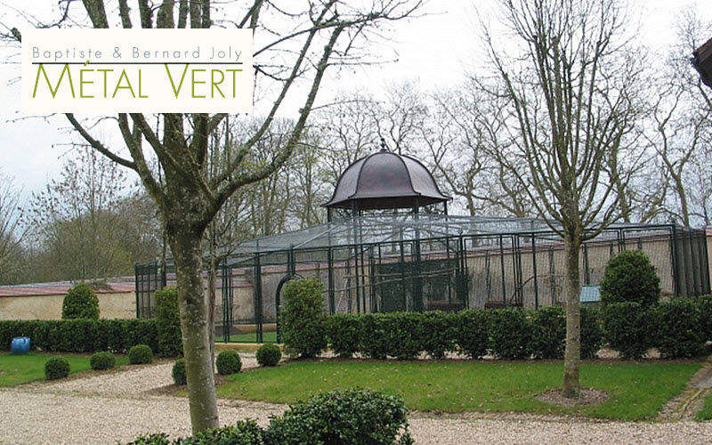 METAL VERT Pajarera Varios Exterior Jardín Diverso  |