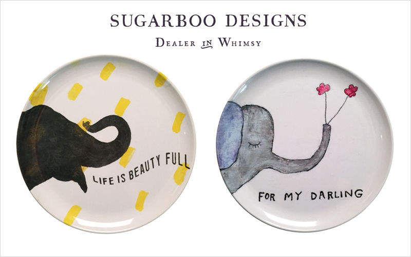 Sugarboo Designs Plato llano Presenta-platos Vajilla  |